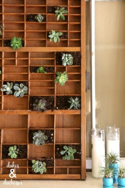 letterpress planter