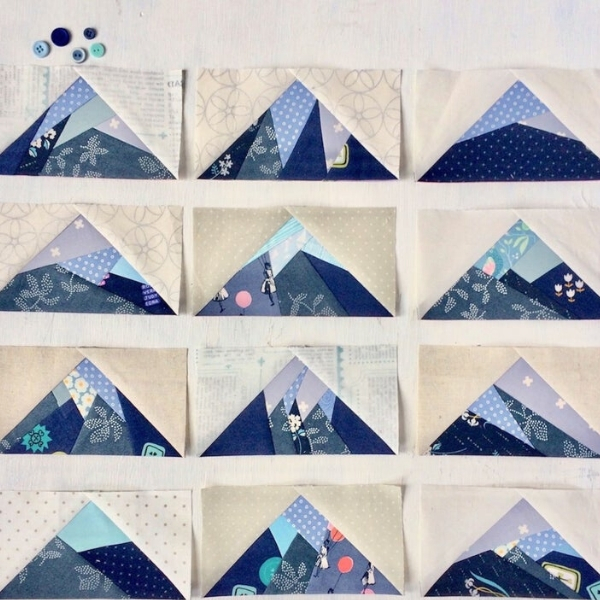 scrappy mountain quilt pieces patterns