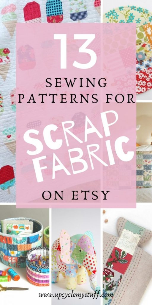 sewing patterns for scrap fabric