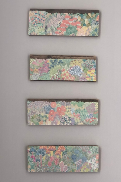 diy large wall art on pallet boards - land of coco