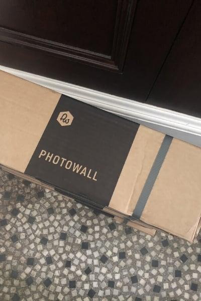 boxed photowall wallpaper