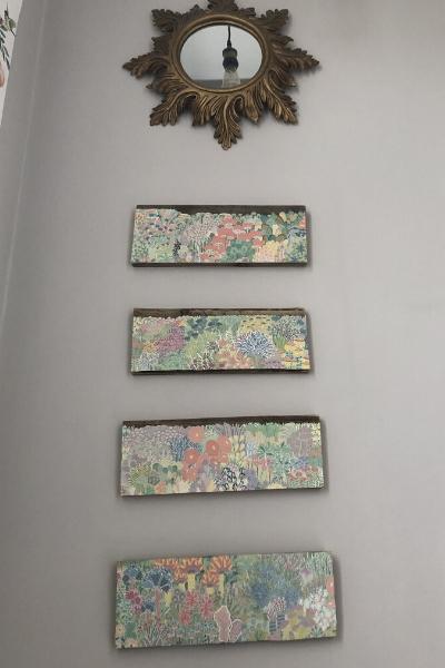 diy wall art ideas - pallet boards