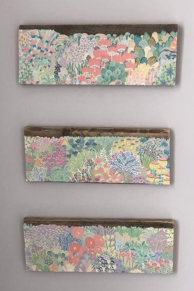diy wall art - pallet boards