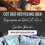 cot bed garden bench