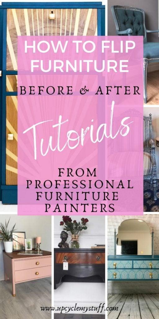 how to flip furniture painted furniture tutorials