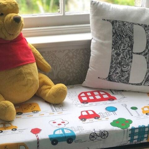 diy toy box seat cushion