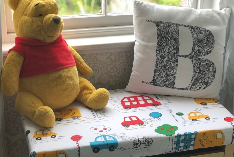 diy toy box seat cushion