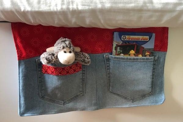 bedside pocket organizer