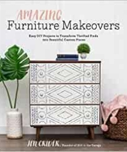 books about upcycling - amazing furniture makeovers