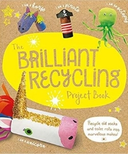 books about upycling - recycled kids crafts