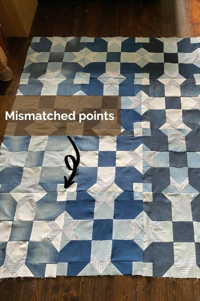 denim quilt mistakes