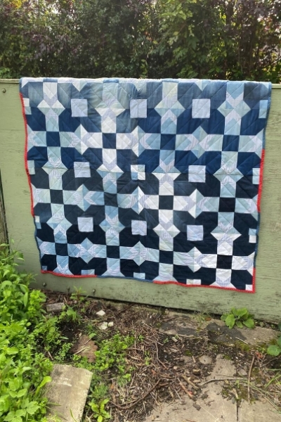diy denim quilt from old jeans