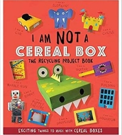 cereal box recycling book