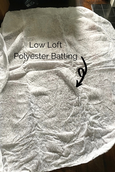 low loft polyester batting for denim quilt