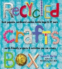 recycled crafts box book