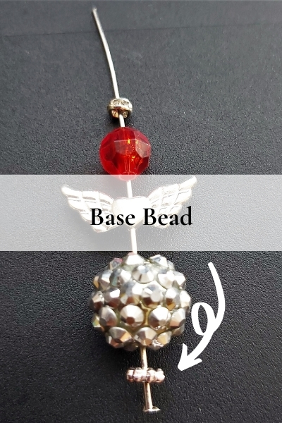 Christmas angels - base bead