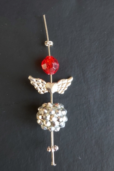 diy christmas angel jewellery making tutorial