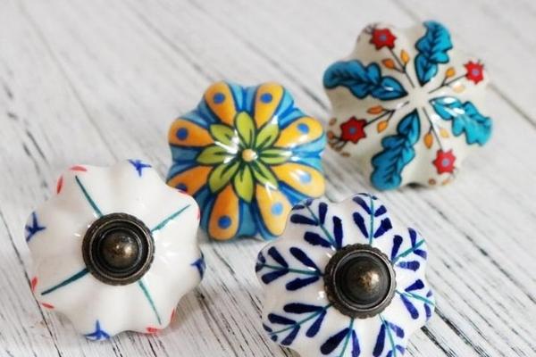 ceramic drawer knob mexican