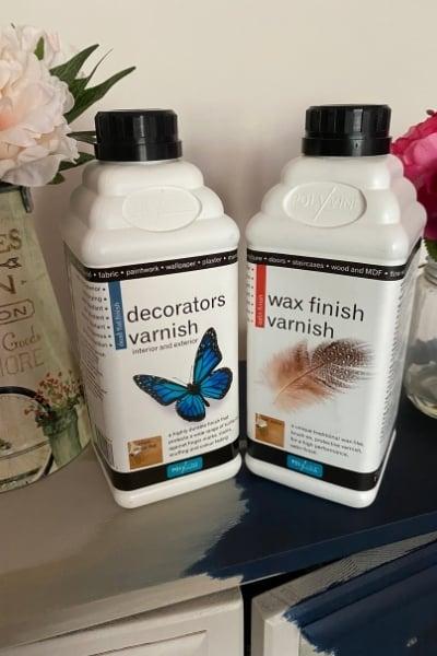 decorators varnish and wax finish