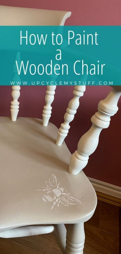 how to paint a wooden chair