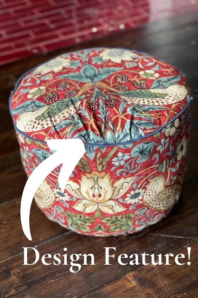 footstool - sewing curves