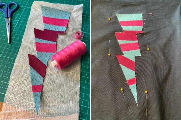 embroidery stabiliser for applique