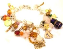upcycled jewellery ideas - junk bracelet