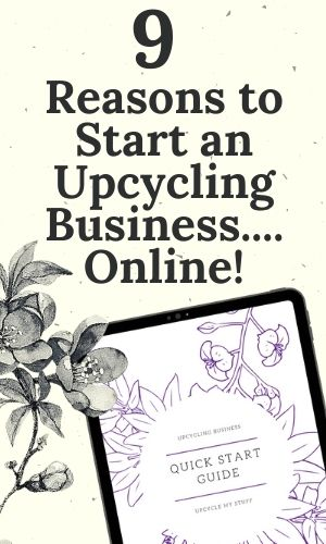 reasons to start an upcycling business