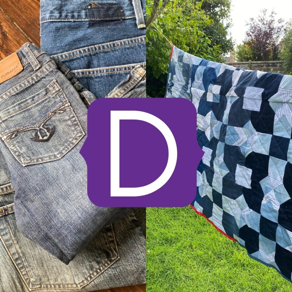 denim upcycle projects