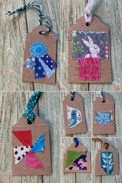 diy christmas gift tags for kids