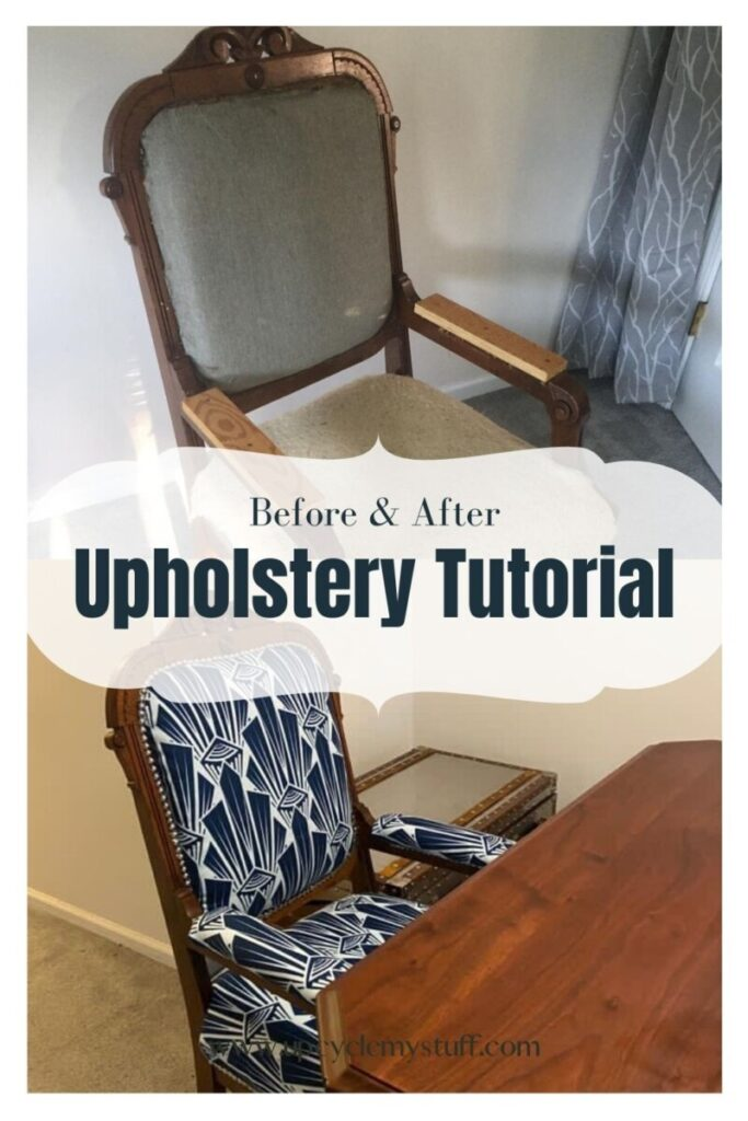 reupholstering an Antique Chair
