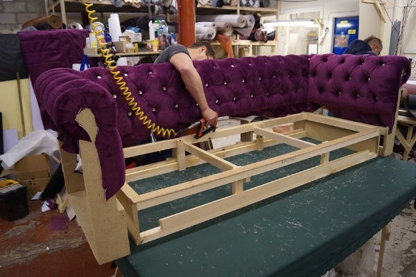 fabric for upholstery - chesterfield
