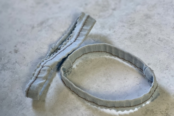 cuffs from old jeans for upcycling projects