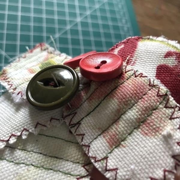 easy scrap fabric flowers
