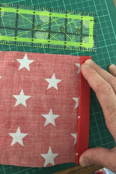 easy sew kids wall hanging from a fabric remnant
