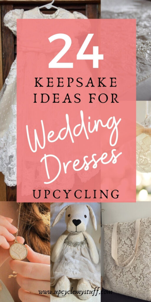 how to repurpose a wedding dress after the wedding