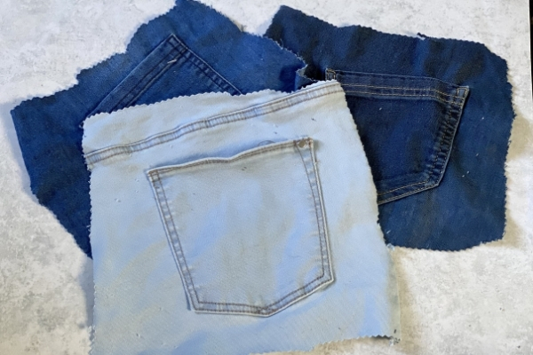jeans back pockets for sewing projects
