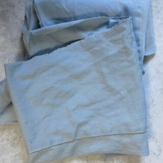 leg fabric from cut up jeans