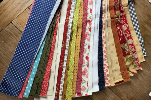 moda scrap bag strips