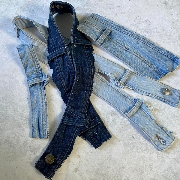 project ideas for jeans waistbands