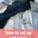reuse ideas for old jeans