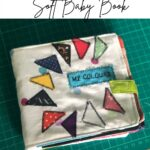 how to sew a fabric baby book
