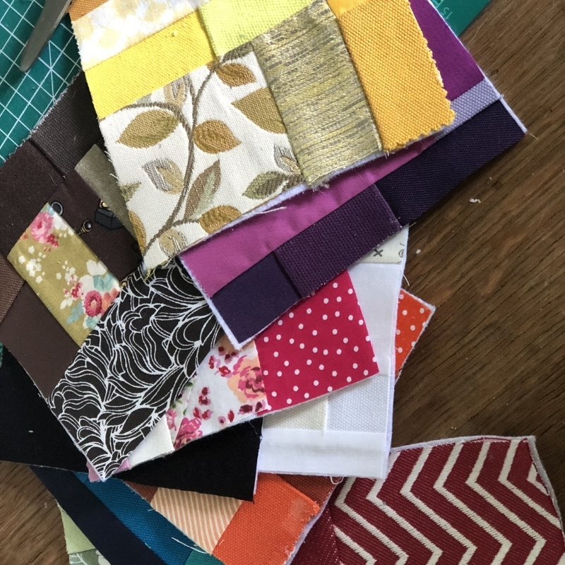 fabric baby book of colours