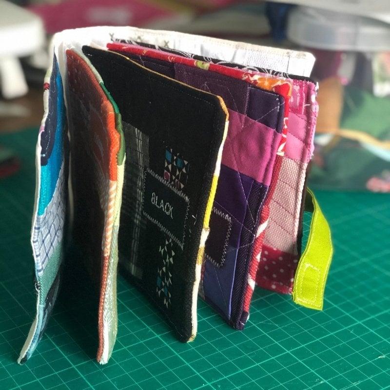 fabric baby book