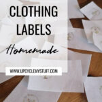 homemade clothing labels