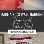 kids wall hanging