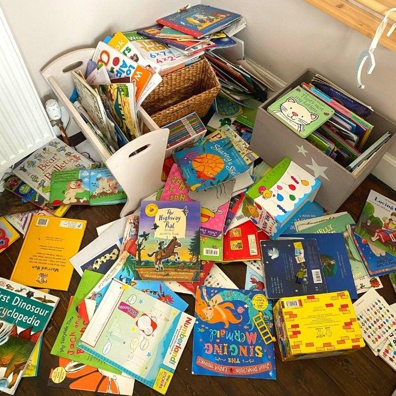 messy kids books