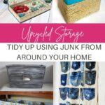 diy storage and organizing ideas