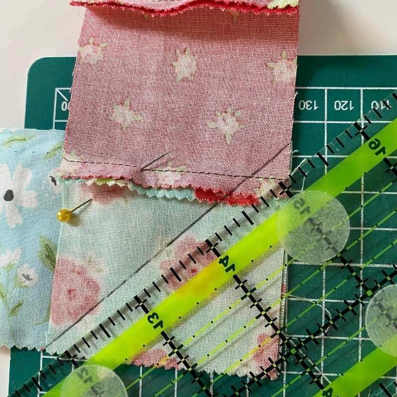 scrappy binding joining strips
