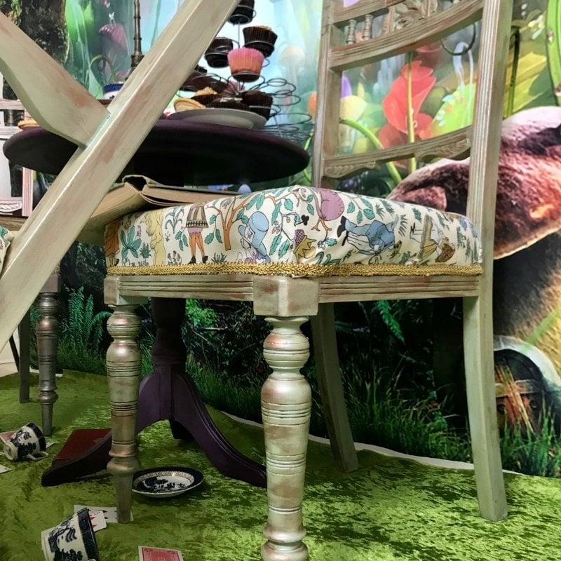 furniture staging inspiration - Alice in Wonderland